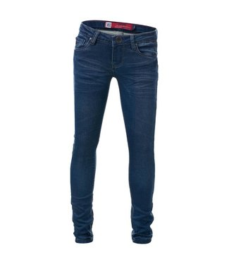 Blue Rebel Mädchen Jeans Castle civil wash