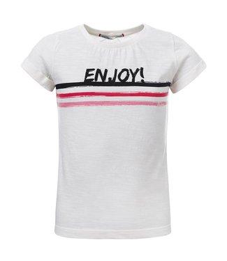 Blue Rebel Mädchen T-Shirt white