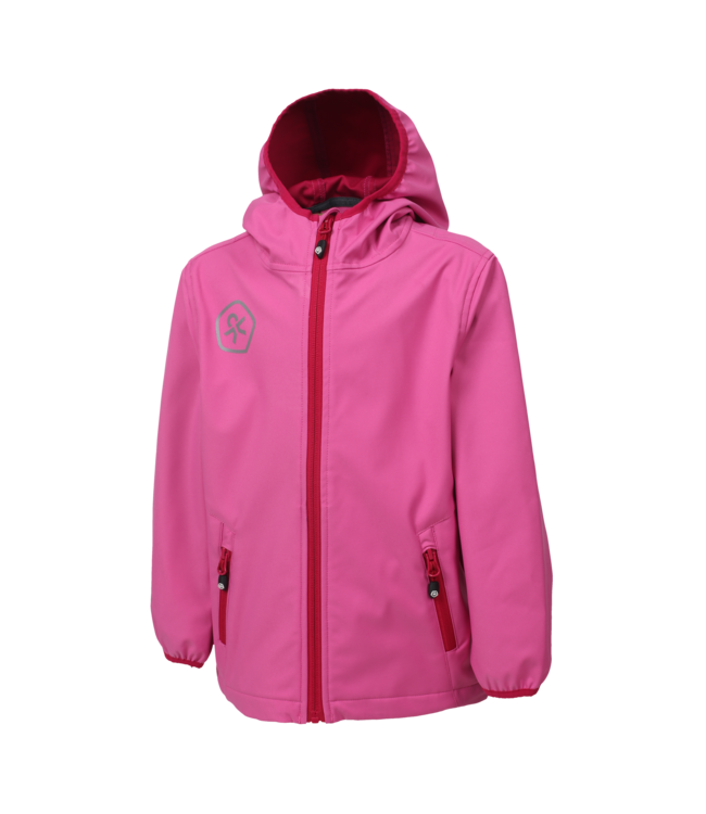 Color Kids Softshell Jacke Barkin pink heaven