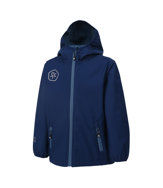 Color Kids Softshell Jacke Barkin estate blue