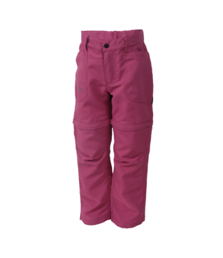 Color Kids Zip off- Outdoorhose Tiggo malaga rose