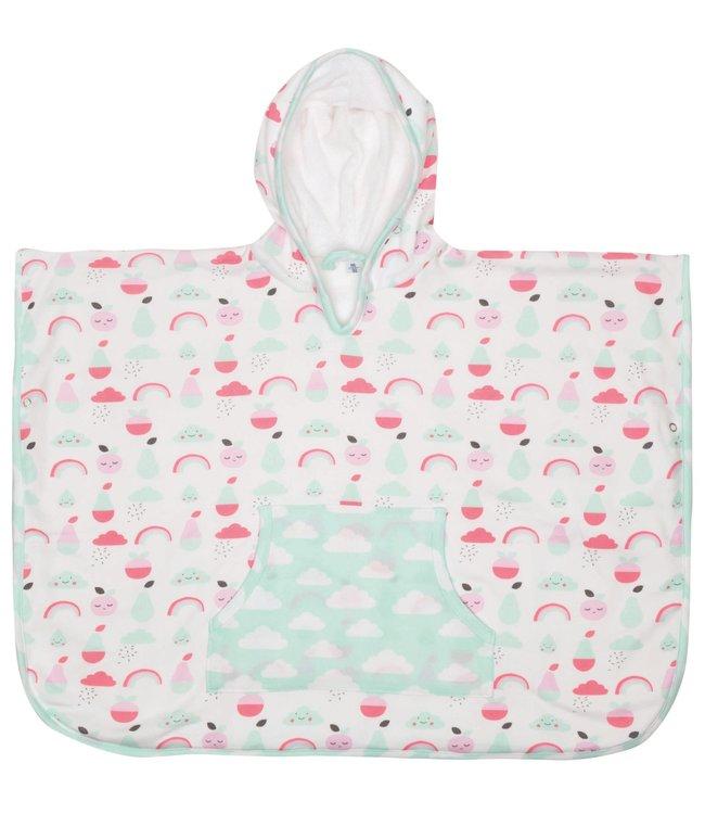 Zewi bébé-jou Poncho Blush Baby