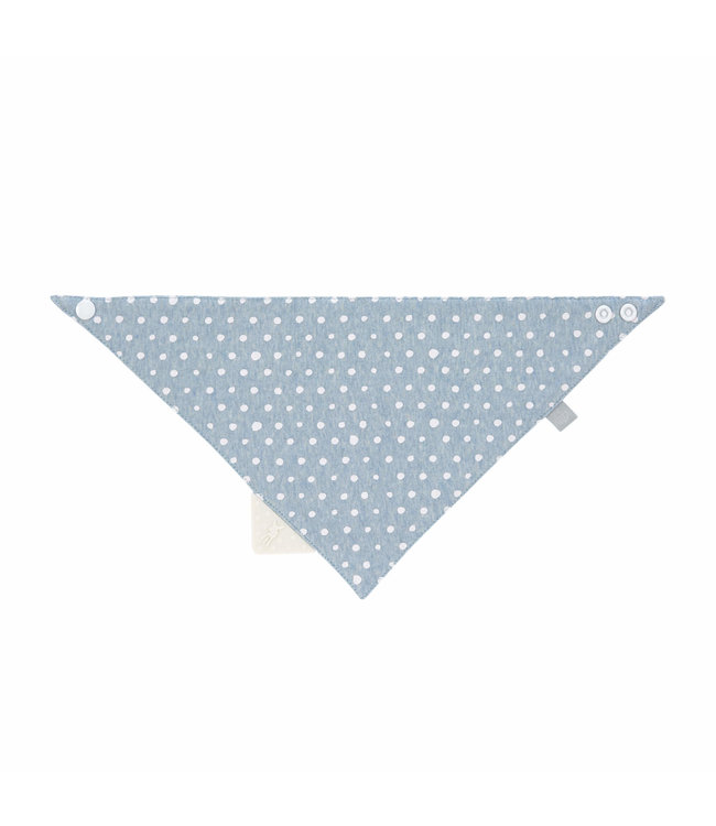 Lässig Baby Bandana Dreieckstuch mit Silikon blue