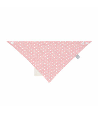 Lässig Baby Bandana Dreieckstuch mit Silikon pink