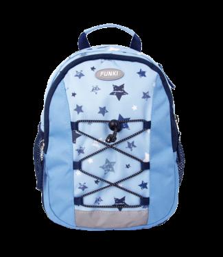 Funki Kinderrucksack blue stars