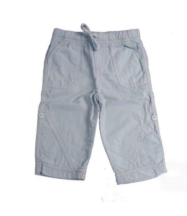 Keedo Roll Up Pants sky blue