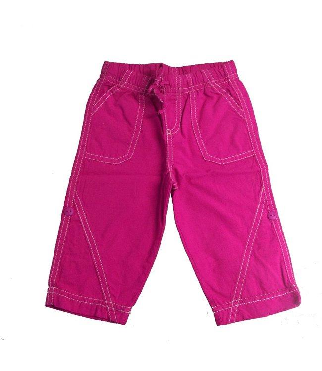 Keedo Roll Up Pants magenta haze