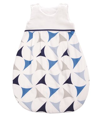 Zewi bébé-jou Schlafsack navy sails