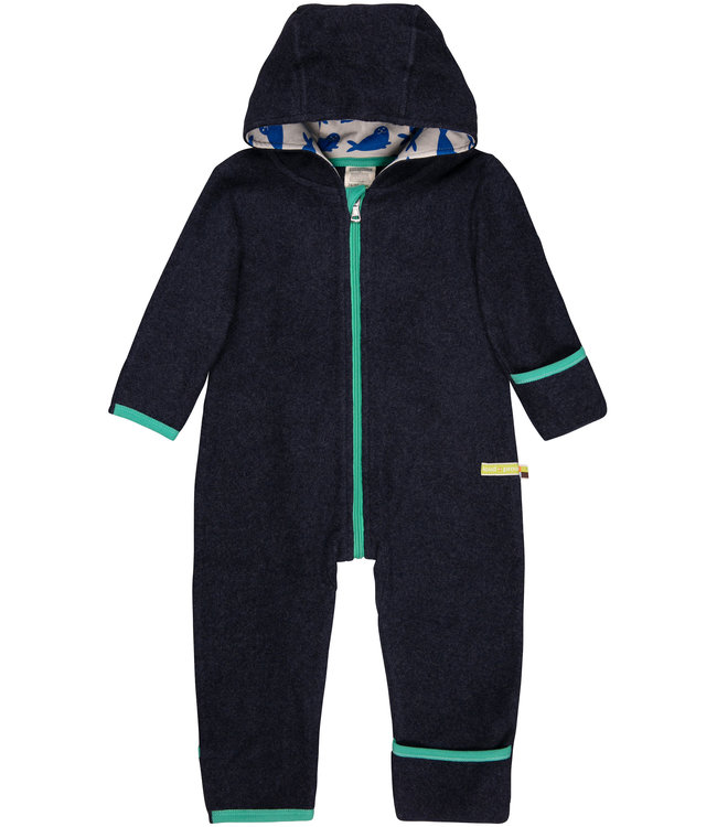 Loud and Proud Overall Fleece midnight