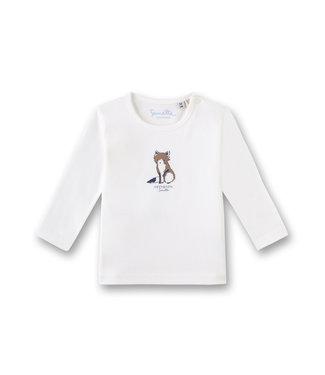 Sanetta Fiftyseven Baby Jungen Shirt Fuchs weiss