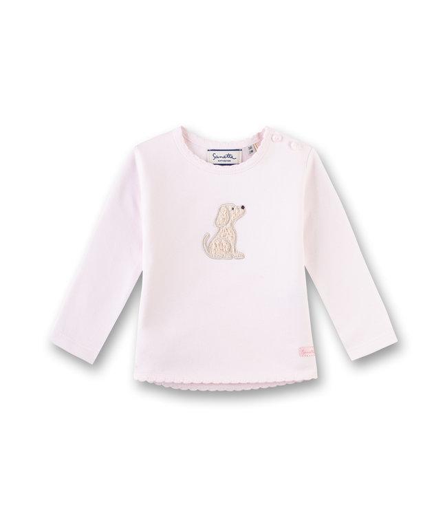 Sanetta Fiftyseven Baby Sweatshirt Hund rosa