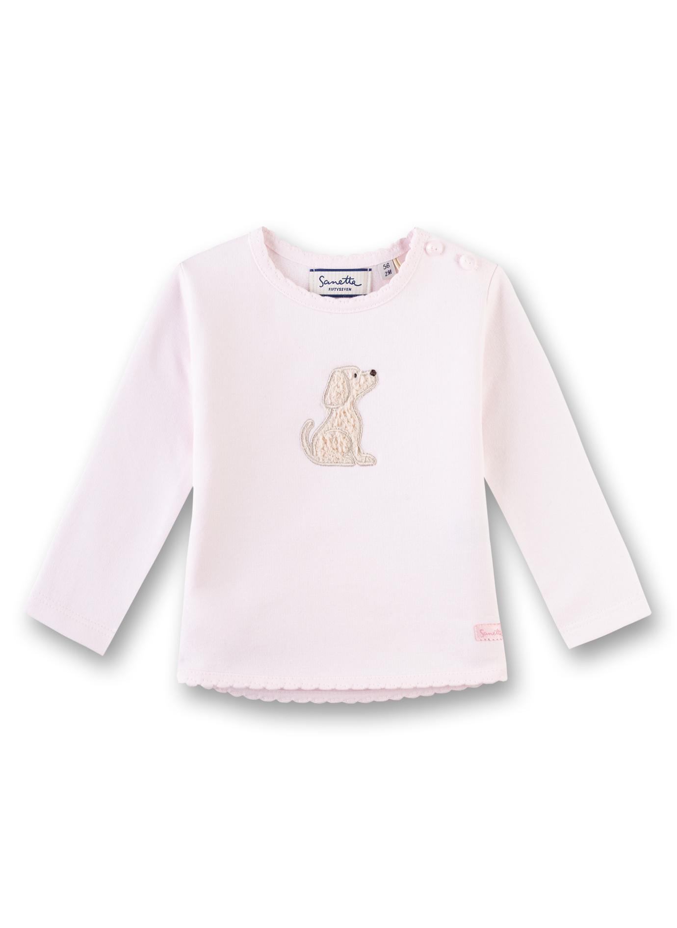 Hund Baby Baby Sanetta Baby Rosa Sweatshirt Sanetta Hund Sanetta Sweatshirt Rosa deWxBoQrC