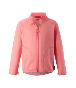 Reima Kinder Fleecejacke Klippe bright salmon