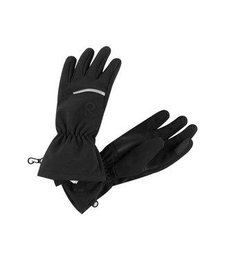 Reima Kinder Softshell Handschuhe Eidet black