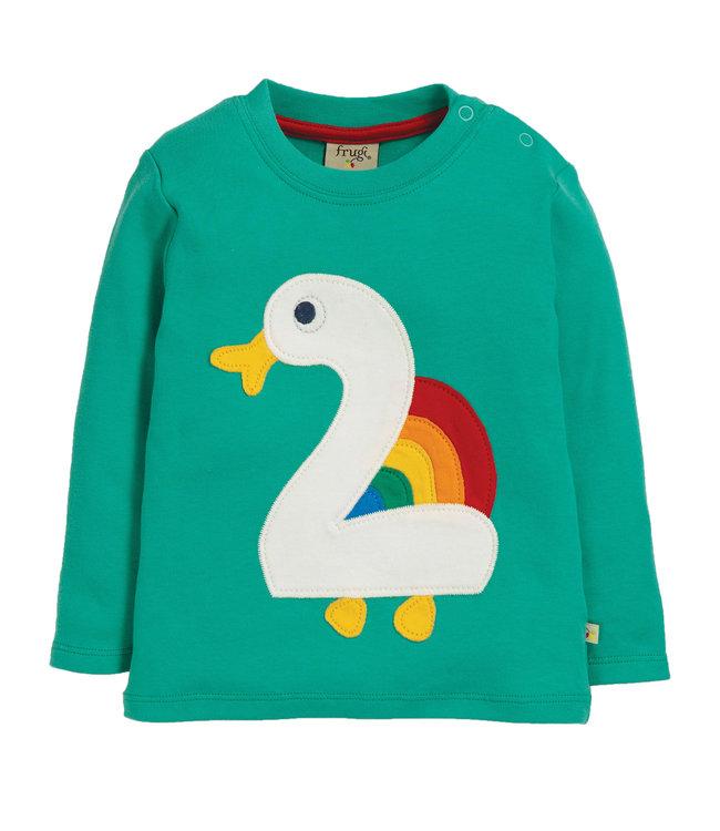 Frugi Kleinkinder Shirt Magic Number 2 Jahre