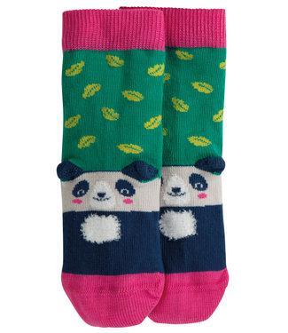 Frugi Mädchen Socken Leaf/Panda
