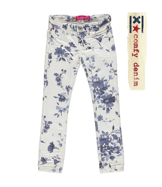 Blue Rebel Mädchen Jeans Calciet Super Skinny Tie Dyed