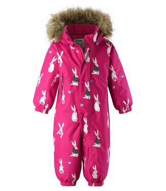 Reima -tec Kleinkinder Schneeanzug Louna raspberry pink