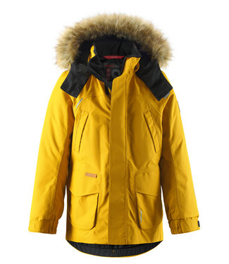 Reima tec+ Kinder Winterjacke Serkku dark yellow