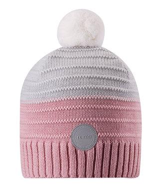Reima Kinder Wollmütze Knitt Aapa soft rose pink