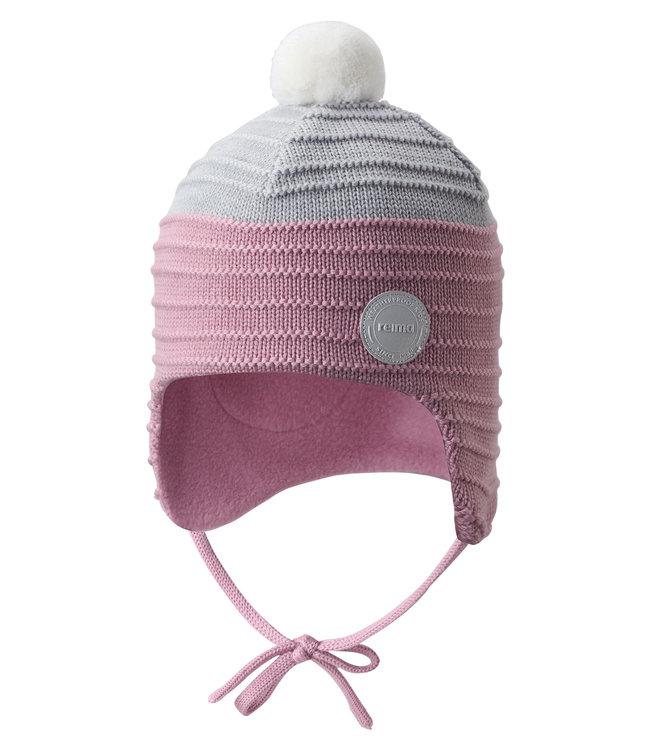 Reima Kleinkinder Wollmütze Ainoa soft rose pink