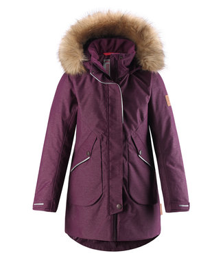 Reima tec Mädchen Winterjacke Inari deep purple