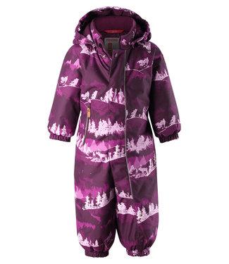 Reima -tec Kleinkinder Schneeanzug Puhuri deep purple