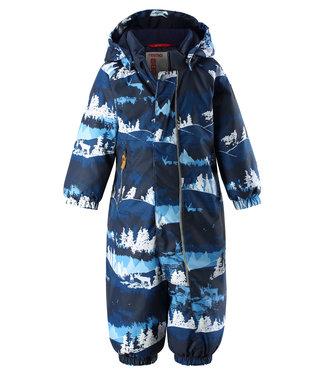 Reima -tec Kleinkinder Schneeanzug Puhuri jeans blue