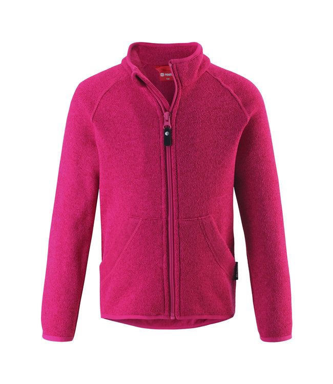 Reima Kinder Fleecejacke Hopper raspberry pink