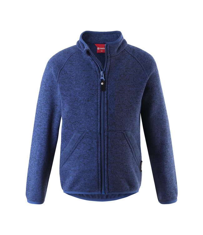 Reima Kinder Fleecejacke Hopper jeans blue