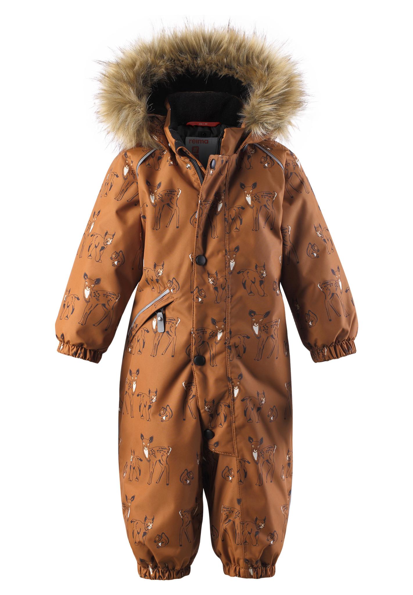 Großhandelsverkauf offizielle Bilder gesamte Sammlung Reimatec Kleinkinder Schneeanzug Lappi cinnamon brown