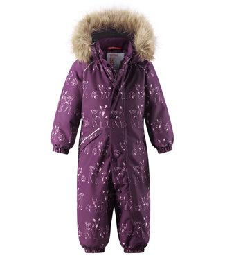 Reima tec Kleinkinder Schneeanzug Lappi deep purple