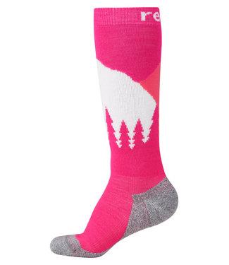 Reima Kinder Socken Ski Day raspberry pink