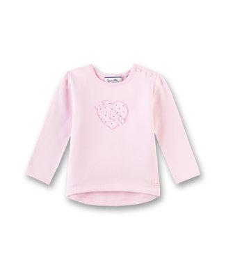 Sanetta Fiftyseven Baby Mädchen Pullover Herz rosa