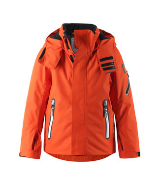 Reima tec Kinder Skijacke Regor orange