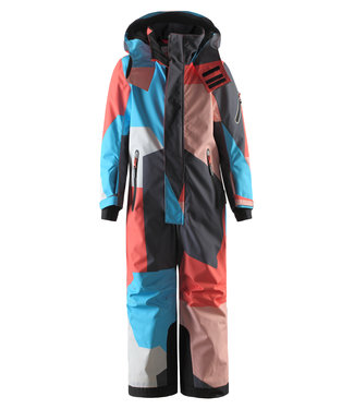 Reima tec Kinder Skioverall Reach bright salmon
