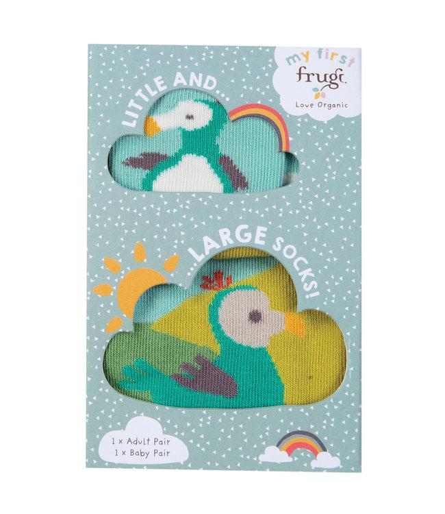 Frugi Socken für Kleinkinder und Erwachsene Dodo