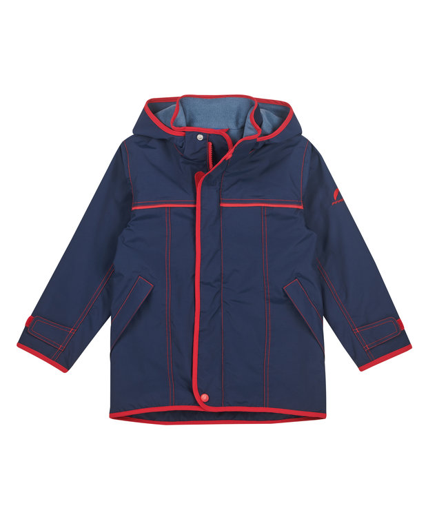 Finkid JOIKU Outdoor Parka navy/red
