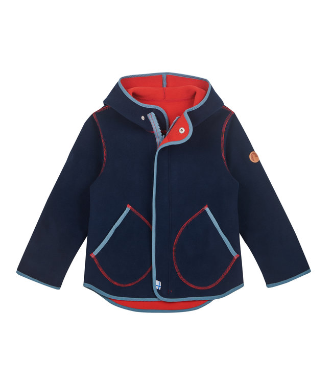 Finkid Fleecejacke Jumppa navy/blue mirage