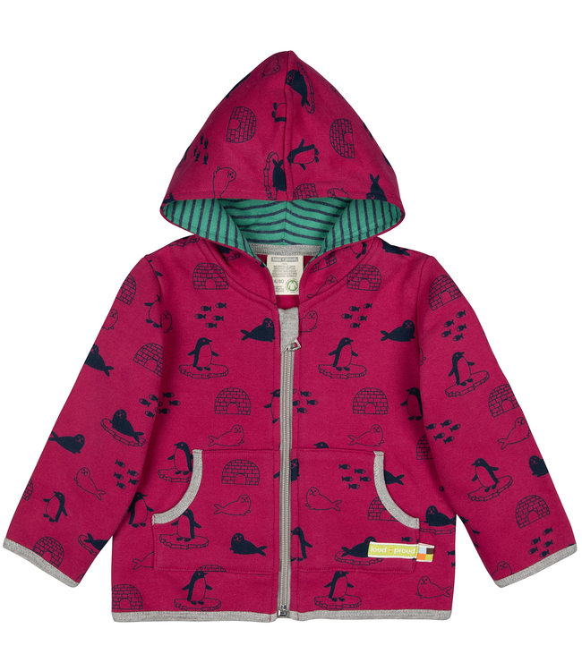 Loud and Proud Jacke Druck Winter berry