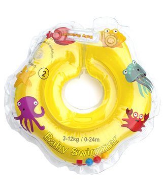 Baby Swimmer Badering gelb  3 - 12 kg