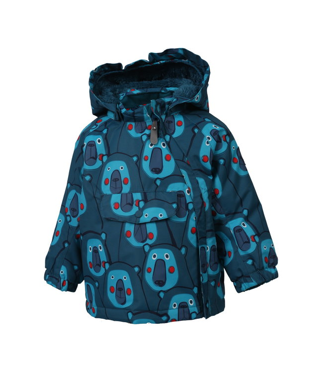 Color Kids Kleinkinder Winterjacke Raidoni pirate blue