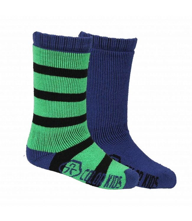 Color Kids Ski Socken 2er Pack Dustin toucan green