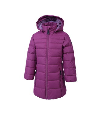 Color Kids Mädchen Winterjacke Kenya malaga rose