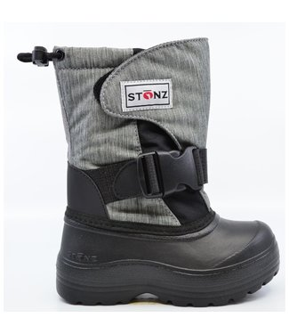 Stonz Winter Stiefel Trek Heather grey/black