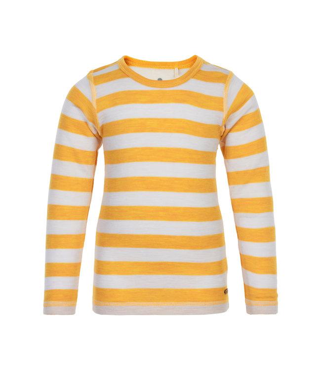 CeLaVi Woll Langarmshirt mineral yellow