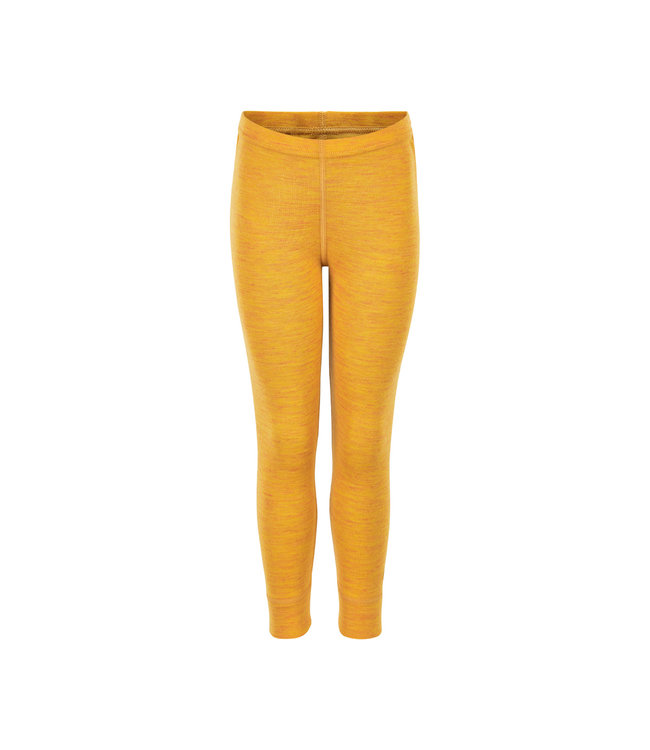CeLaVi Woll Leggings mineral yellow