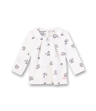 Sanetta Fiftyseven Baby Mädchen-Shirt langarm Blüten