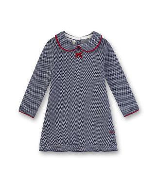 Sanetta Fiftyseven Baby Mädchen Kleid blau