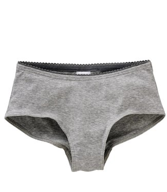 Schiesser Mädchen Micro Pants grau-melange Soft Cotton